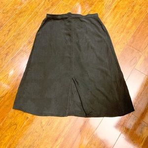 Tommy Bahama | 100% Silk Skirt w/ Front Slit | 14